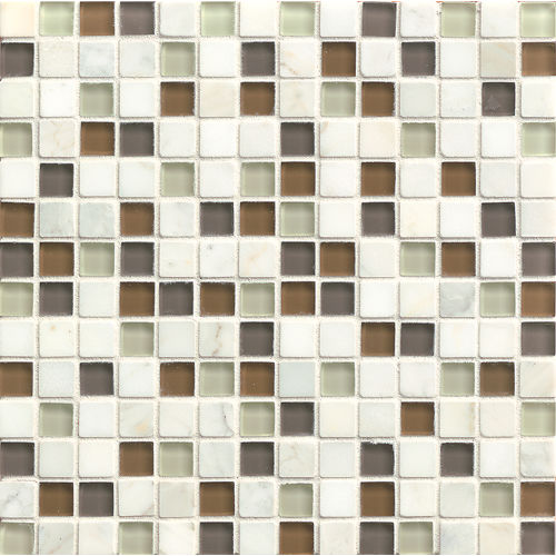 "Interlude 3/4"" x 3/4"" Wall Mosaic in Encore"