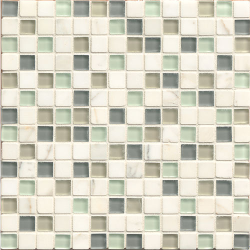 "Interlude 3/4"" x 3/4"" Wall Mosaic in Minuet"