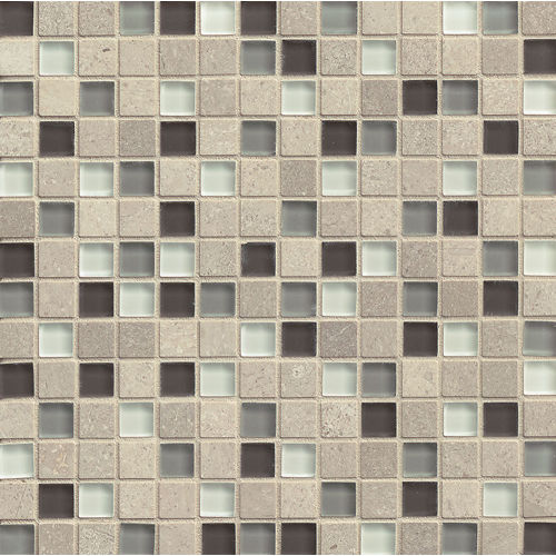 "Interlude 3/4"" x 3/4"" Wall Mosaic in Prelude"