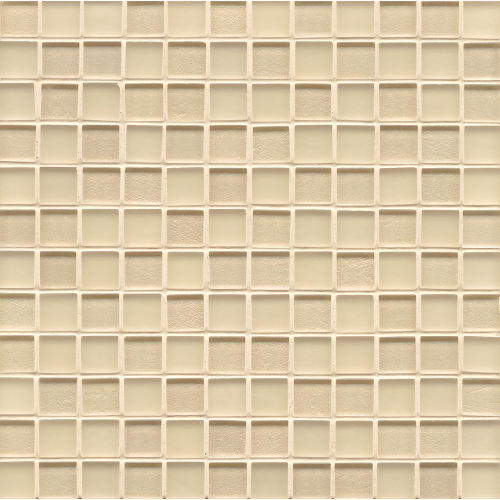 "Manhattan 1"" x 1"" Wall Mosaic in Cashmere"