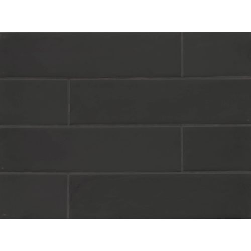 "Manhattan 4"" x 16"" Wall Tile in Midnight"