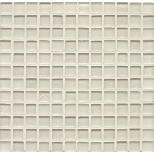 "Manhattan 1"" x 1"" Wall Mosaic in Pearl"