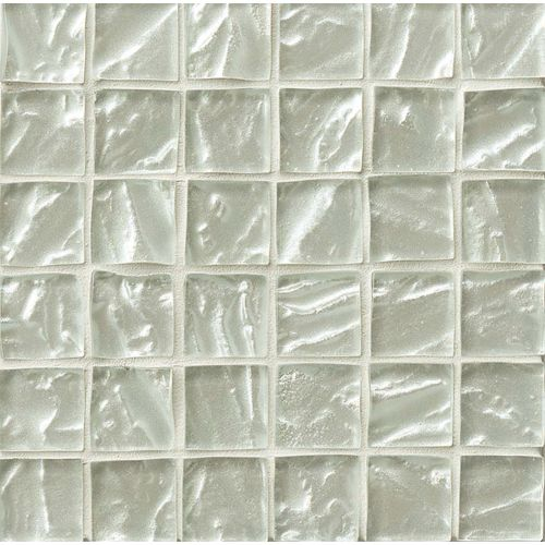 "Priscilla 1-7/8"" x 1-7/8"" Wall Mosaic in Oyster White"
