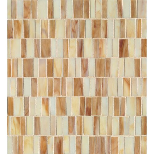 Retrospect Wall Mosaic in Butterscotch Blend