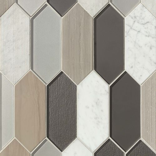 Verve Wall Mosaic in Dash
