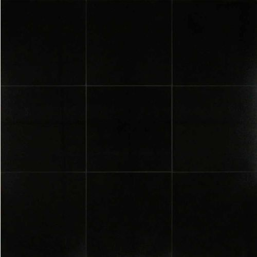 "Absolute Black 12"" x 12"" Floor & Wall Tile"