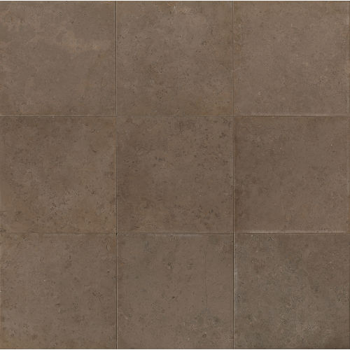 "Vogue Brown Brushed 18"" x 18"" Floor & Wall Tile"