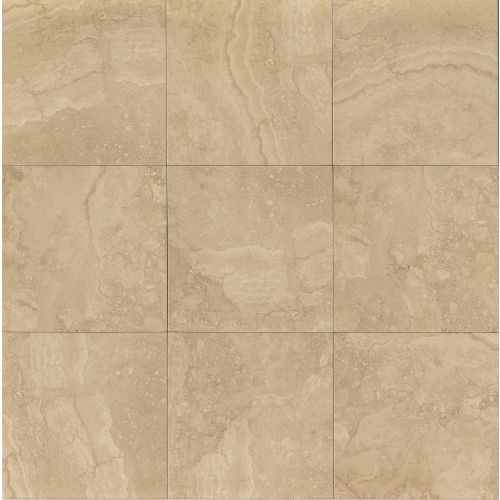 "Shady Canyon 13"" x 13"" Floor & Wall Tile in Beige"