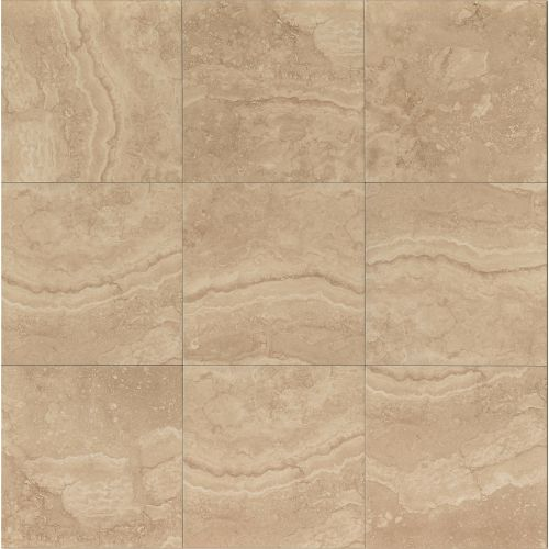 "Shady Canyon 18"" x 18"" x 1/4"" Floor and Wall Tile in Camel"