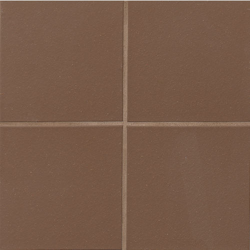 "Metropolitan 8"" x 8"" x 1/2"" Floor and Wall Tile in Chestnut Brown"