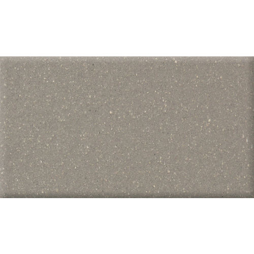 "Metropolitan 4"" x 8"" x 1/2"" Floor and Wall Tile in Plaza Gray"
