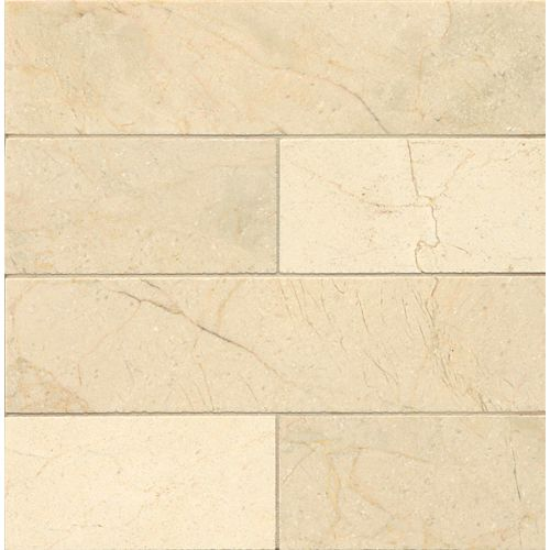 "Crema Marfil Select 3"" x 12"" Floor & Wall Tile"