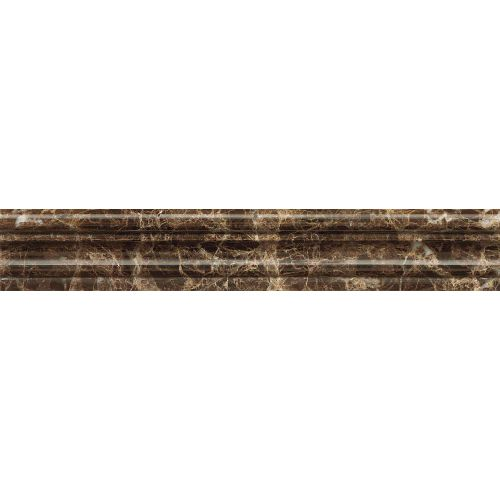 "Emperador Dark 2"" x 12"" Trim"