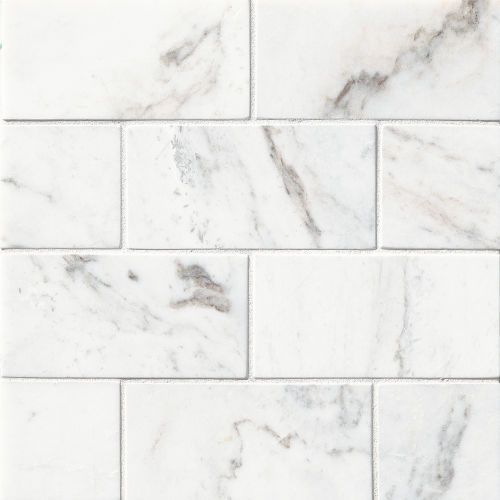 "Glorious White 3"" x 6"" Floor & Wall Tile"