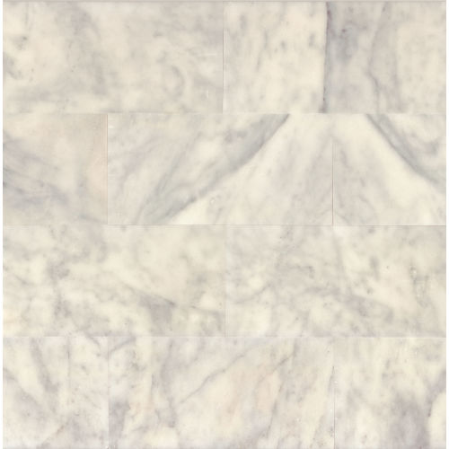"Lydia White 12"" x 24"" Wall Tile"