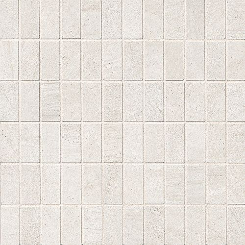 "Purestone 1"" x 2"" Floor & Wall Mosaic in Bianco"
