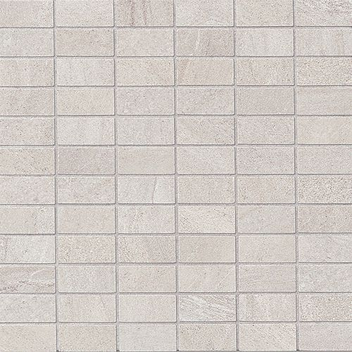"Purestone 1"" x 2"" Floor & Wall Mosaic in Grigio"
