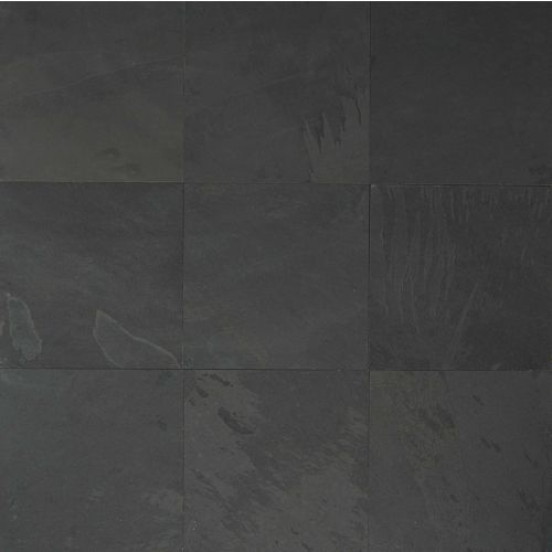 "Black Pearl 12"" x 12"" Floor & Wall Tile"