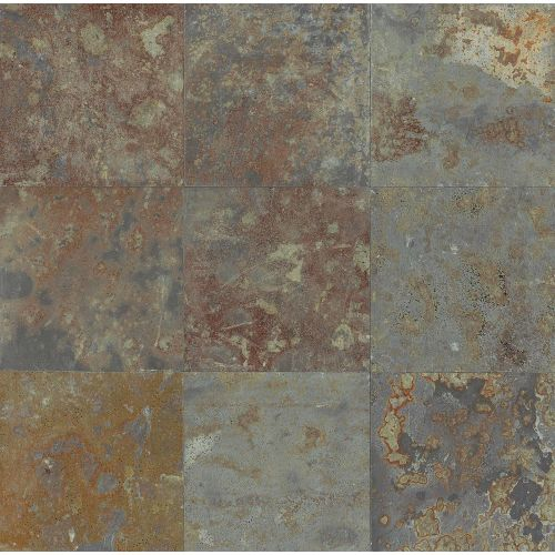 "Brazilian Multicolor 12"" x 12"" Floor & Wall Tile"