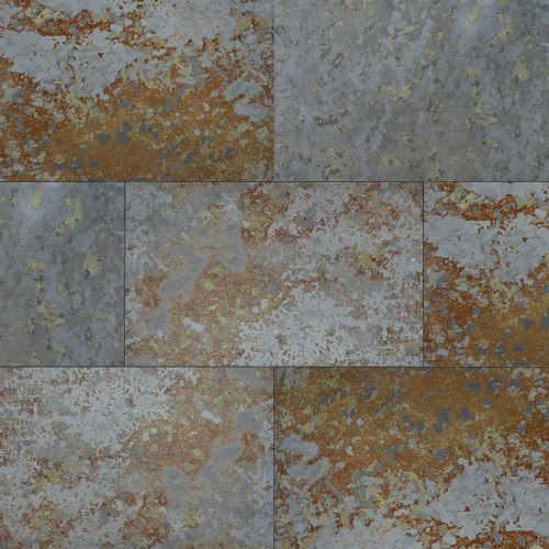 "Brazilian Multicolor 16"" x 24"" Floor & Wall Tile"
