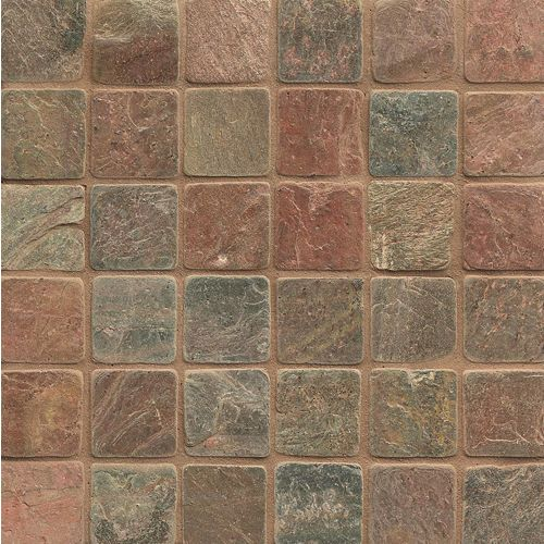 "Copper 2"" x 2"" Floor & Wall Mosaic"