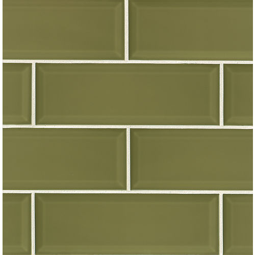 "Adamas 4"" x 12"" Wall Tile in Viridis"