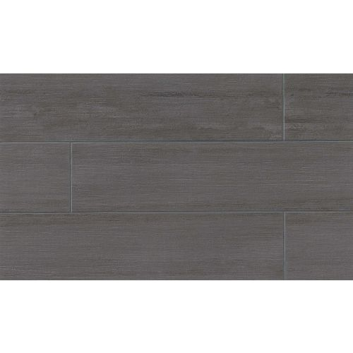 "City 2.0 12"" x 48"" Floor & Wall Tile in Asphalt"