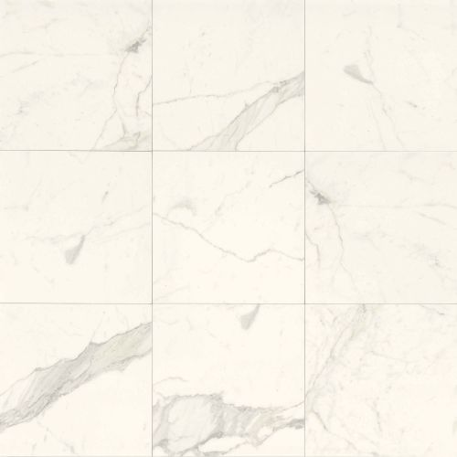 "Classic 18"" x 18"" Floor & Wall Tile in Statuarietto"