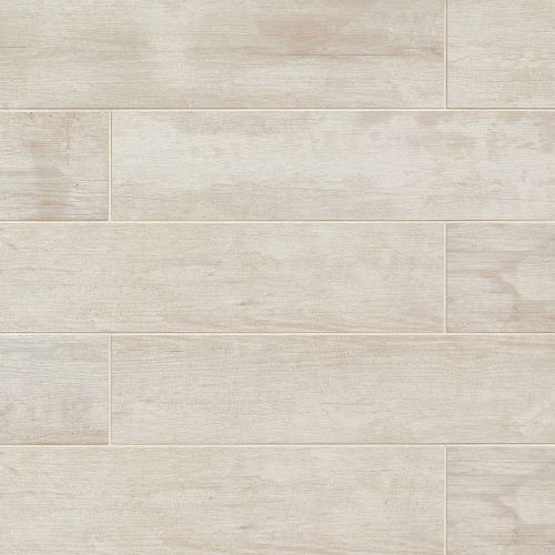 "Crate 6"" x 24"" Floor & Wall Tile in Colonial White"