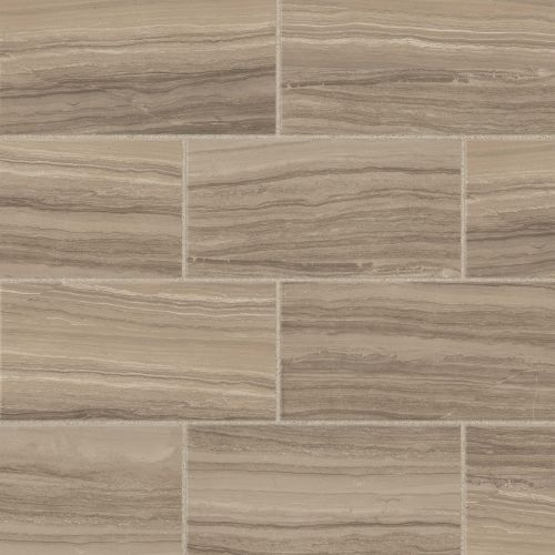 "Highland 12"" x 24"" Floor and Wall Tile in Beige"