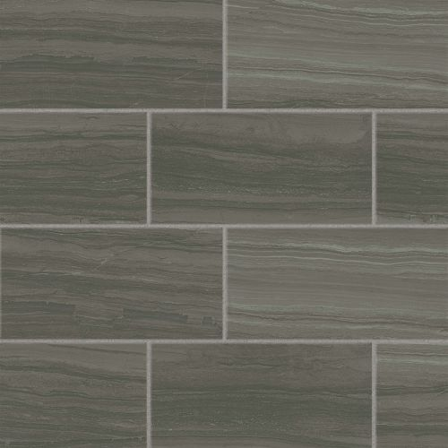 "Highland 12"" x 24"" Floor & Wall Tile in Dark Greige"