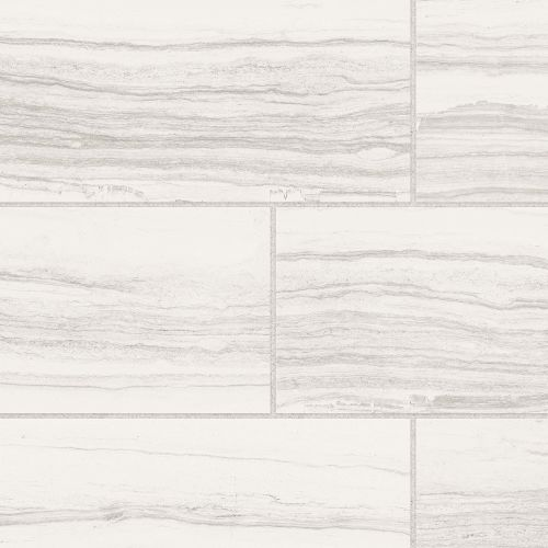 "Highland 18"" x 36"" Floor & Wall Tile in White"