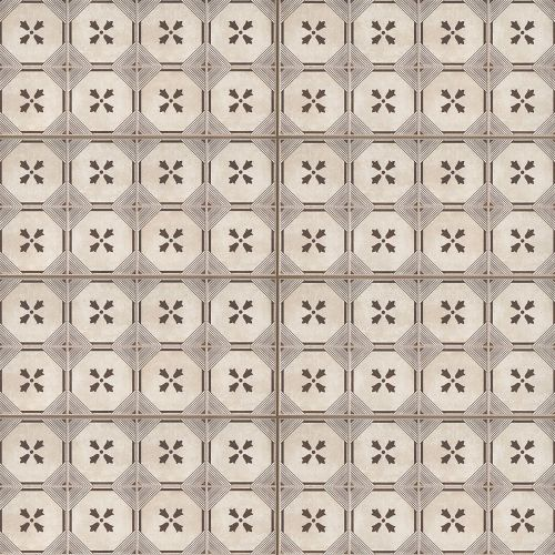 "Palazzo 12"" x 24"" Decorative Tile in Antique Cotto Dynasty"
