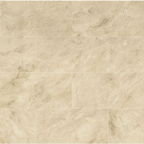 "Plane 15"" x 30"" Floor & Wall Tile in Marfil Vena"