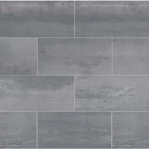 "Plane 15"" x 30"" Floor & Wall Tile in Silver"