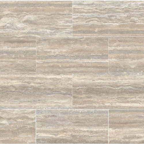 "Plane 15"" x 30"" x 1/4"" Floor and Wall Tile in Travertino Vena"