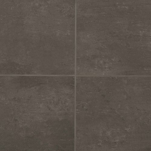 "Simply Modern 12"" x 12"" Floor & Wall Tile in Coffee"