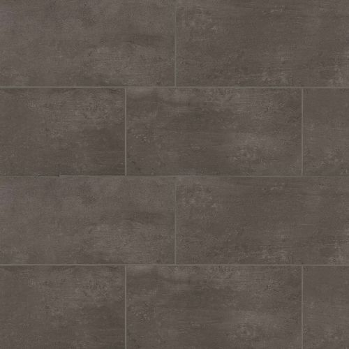"Simply Modern 12"" x 24"" Floor & Wall Tile in Coffee"