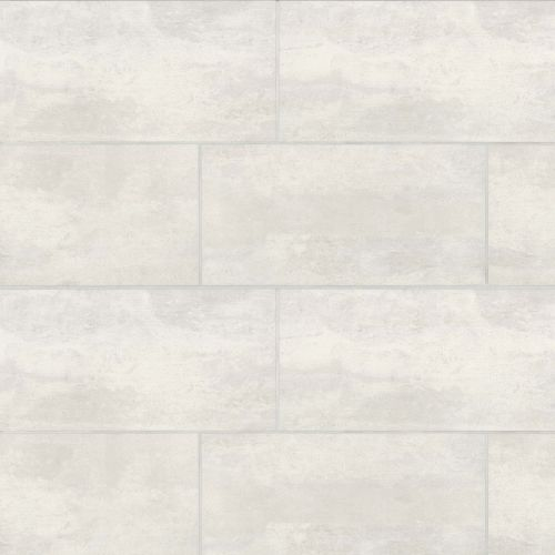 "Simply Modern 12"" x 24"" Floor & Wall Tile in Creme"