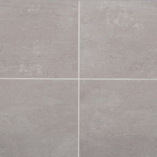 "Simply Modern 12"" x 12"" Floor & Wall Tile in Grey"