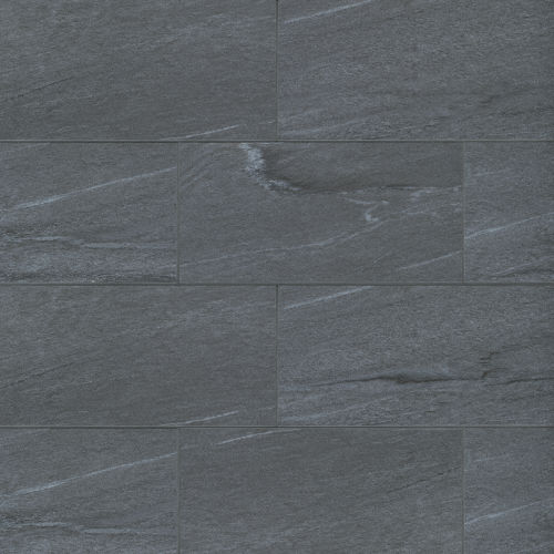 "Urban 2.0 12"" x 24"" Floor & Wall Tile in Raven Black"