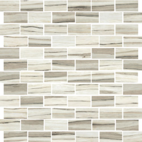 "Zebrino 1"" x 2"" Floor & Wall Mosaic in Classico"