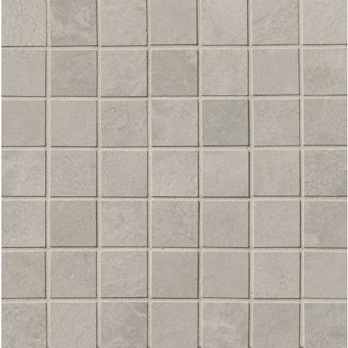 "Cemento 1-1/2"" x 1-1/2"" Floor and Wall Mosaic in Silver Sage"