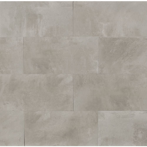 "Cemento 12"" x 24"" Floor & Wall Tile in Silver Sage"