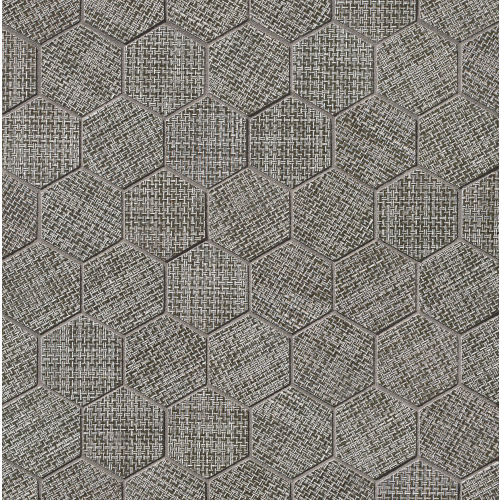 "Dagny 2"" x 2"" Floor & Wall Mosaic in Gray"