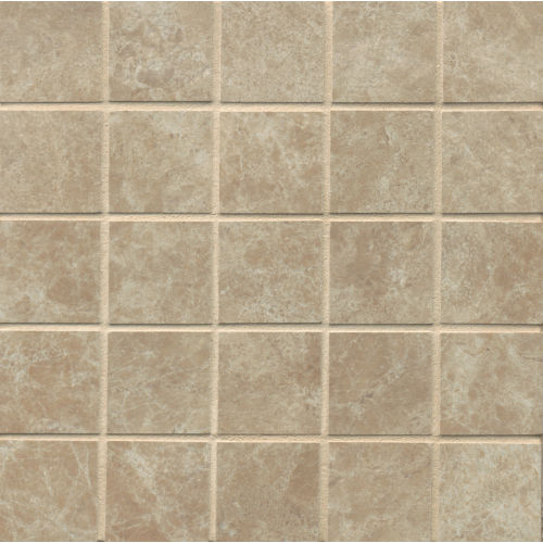 "Indiana Stone 2"" x 2"" Floor and Wall Mosaic in Noce"
