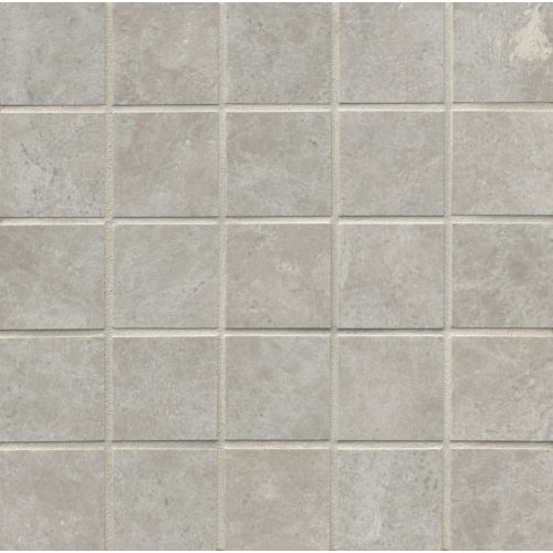 "Indiana Stone 2"" x 2"" Floor & Wall Mosaic in Silver"