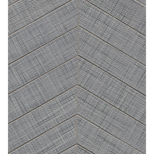 "Lido 2"" x 6"" Floor & Wall Mosaic in Gray"