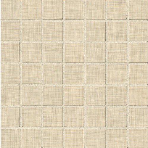 "Linen 1-1/2"" x 1-1/2"" Floor & Wall Mosaic in Almond"