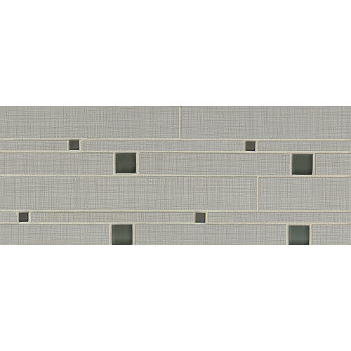 Linen Floor & Wall Mosaic in Pearl